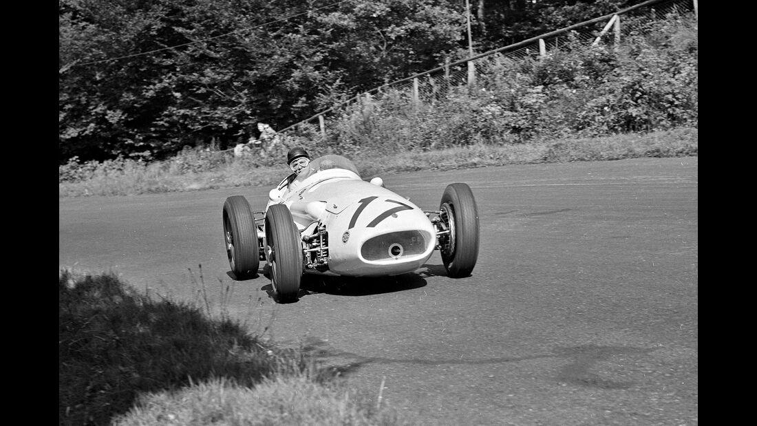 Hans Herrmann - F1 GP Deutschland 1957 - Nürburgring