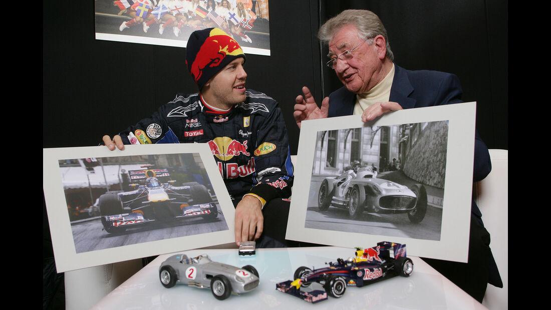 Hans Herrmann & Sebastian Vettel