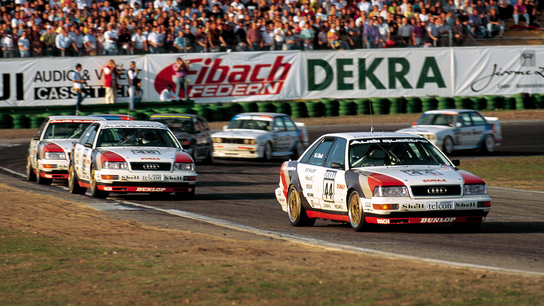 Hans-Joachim Stuck - Audi V8 quattro - DTM 1990