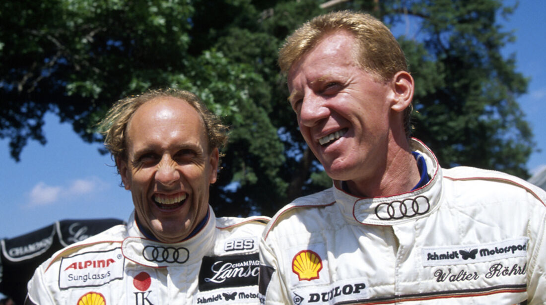 Hans Joachim Stuck DTM Audi