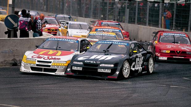 Hans Joachim Stuck - Manuel Reuter - Opel Calibra V6 - ITC 1996 (DTM)