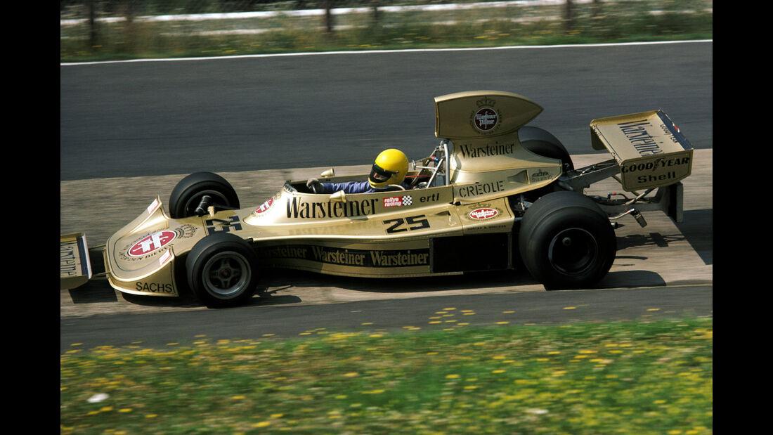 Harald Ertl - Warsteiner Hesketh 308 - GP Deutschland 1975