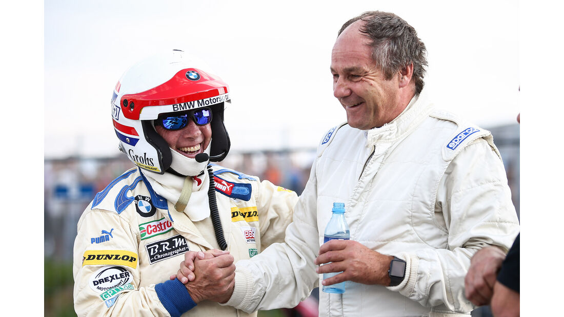 Harald Grohs & Gerhard Berger - Legenden-Parade - GP Österreich 2018