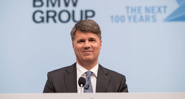 Harald Krüger BMW Bilanzpressekonferenz 2017