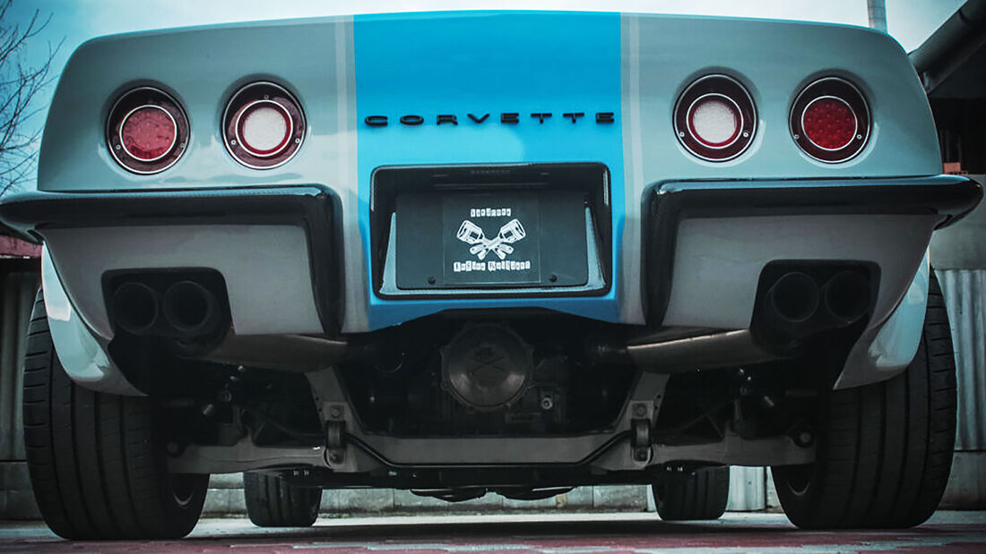 Hardcore Engine Builders Chevrolet Corvette Restomod