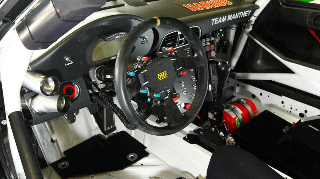 Haribo-Porsche 911 GT3 R Cockpit