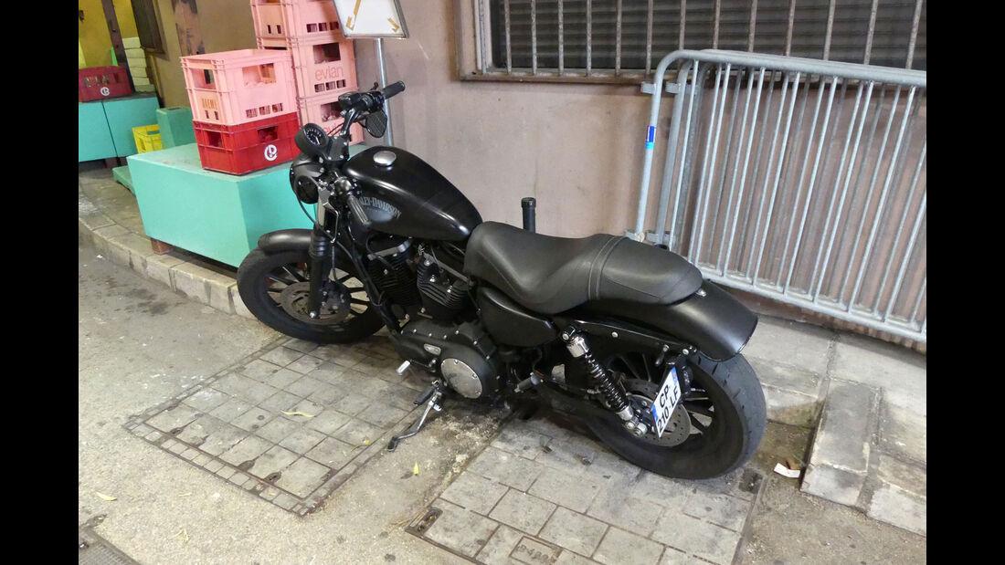 Harley Davidson - Carspotting - GP Monaco 2018