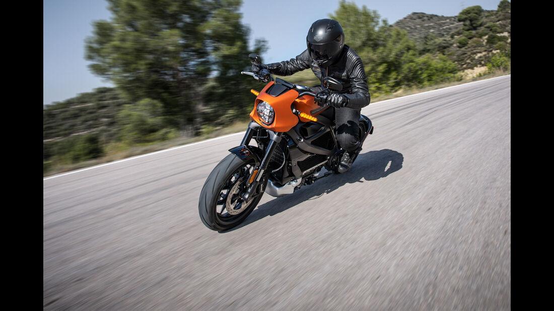 Harley-Davidson LiveWire Serienbike