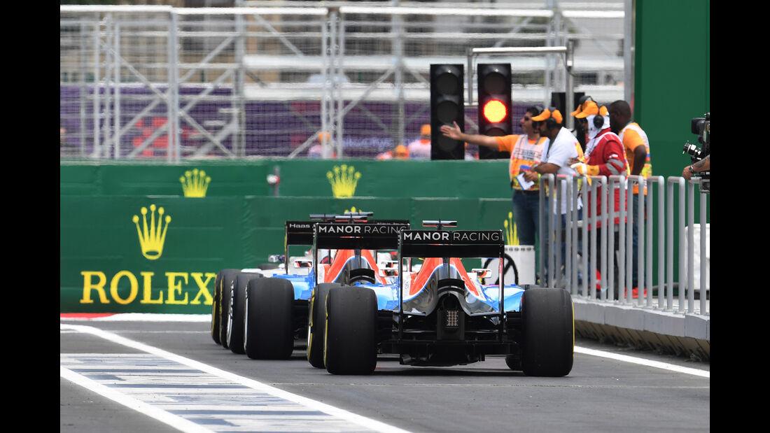 Haryanto & Wehrlein - Manor - Formel 1 - GP Aserbaidschan - Baku - 17. Juni 2016