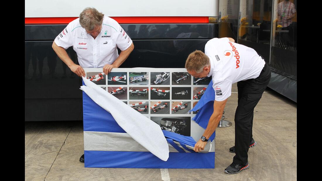Haug & Whitmarsh F1 Fun Pics 2012