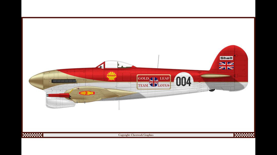 Hawker Typhoon - Lotus - Racing-Planes - 2015
