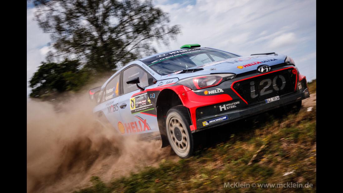Hayden Paddon - Rallye Polen 2016