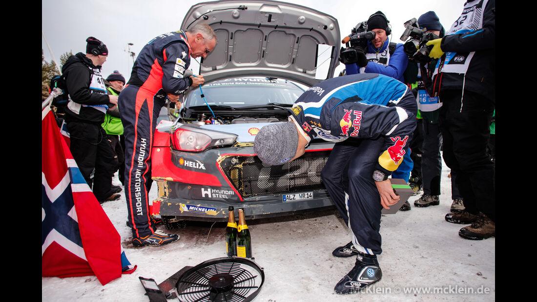 Hayden Paddon - Rallye Schweden 2016