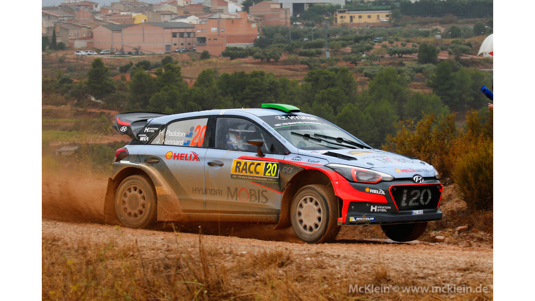 Hayden Paddon - Rallye Spanien 2016