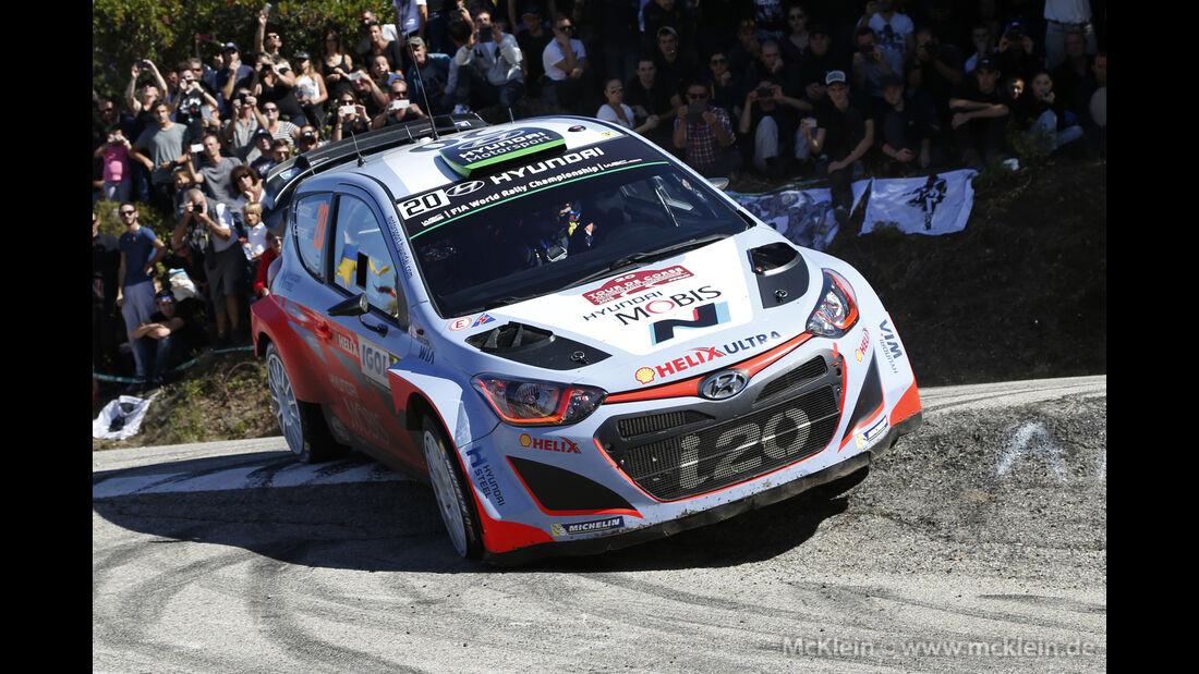 Hayden Paddon - WRC - Rallye Frankreich - Tour de Corse - Korsika - 2015