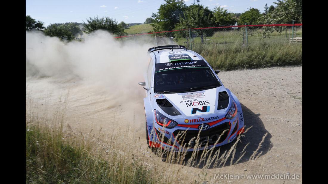 Hayden Paddon - WRC Rallye Polen 2015