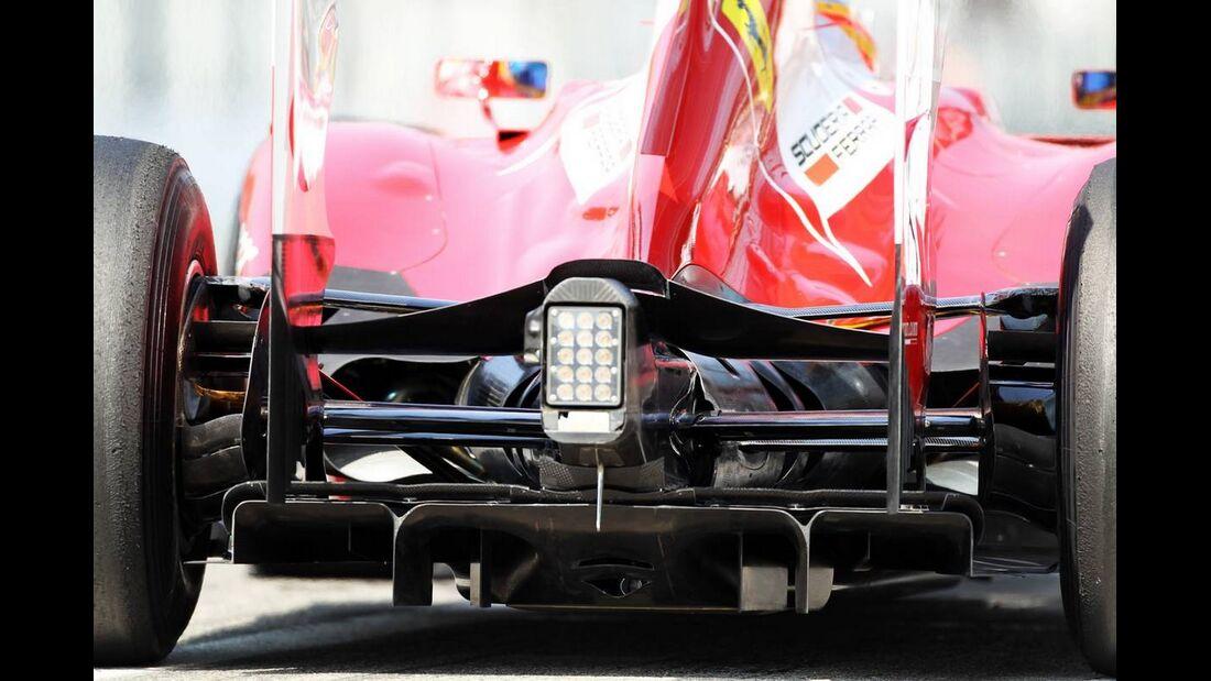 Heck Ferrari - Formel 1 - GP Italien - 07. September 2012
