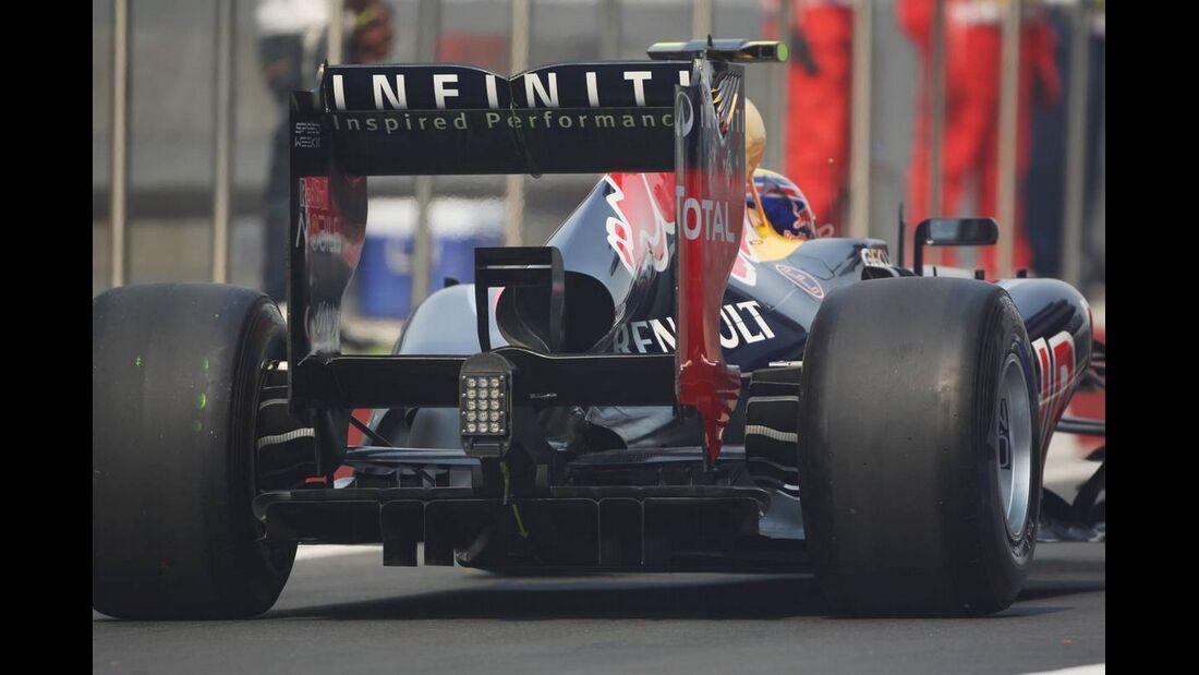 Heck Red Bull - Formel 1 - GP Indien - 27. Oktober 2012