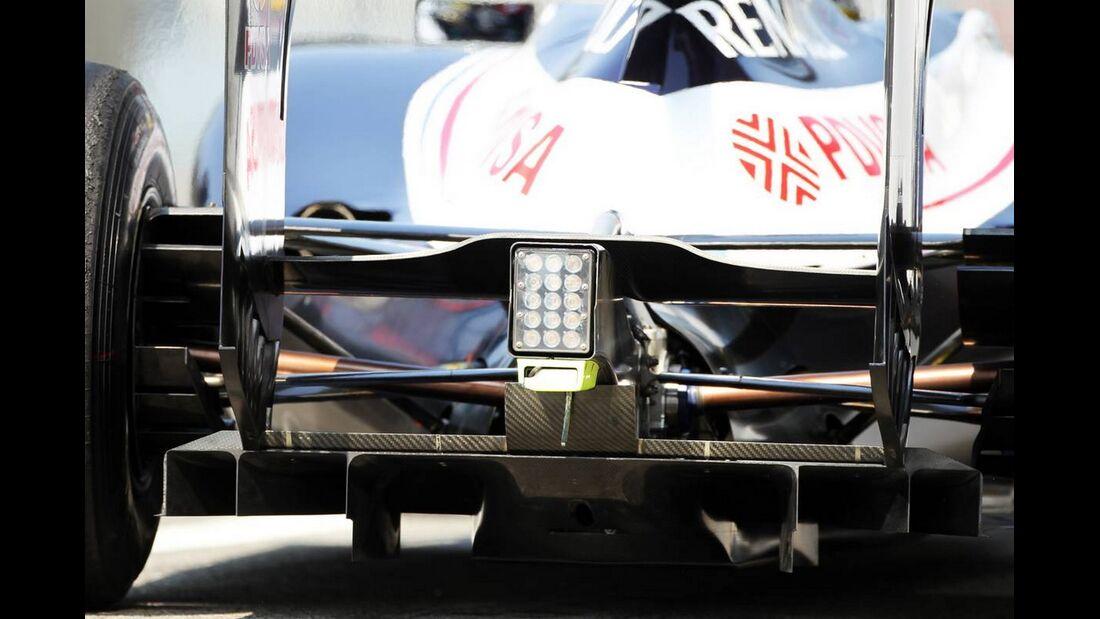 Heck Williams - Formel 1 - GP Italien - 07. September 2012