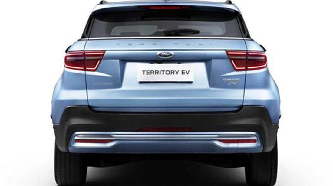 Heck des Ford Territory EV