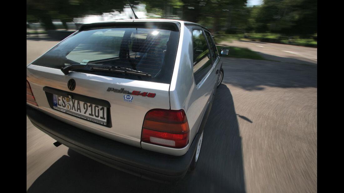 Heck des VW Polo G40