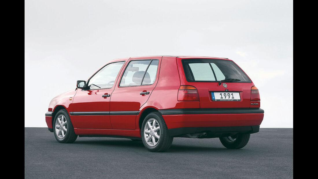 Heckansicht VW Golf III