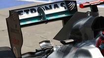 Heckflügel Mercedes GP