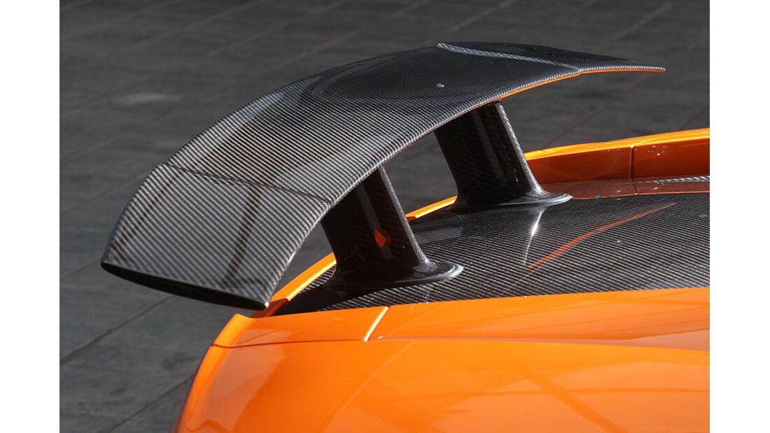 Heckspoiler des Lamborghini Gallardo LP 570-4 Superleggera