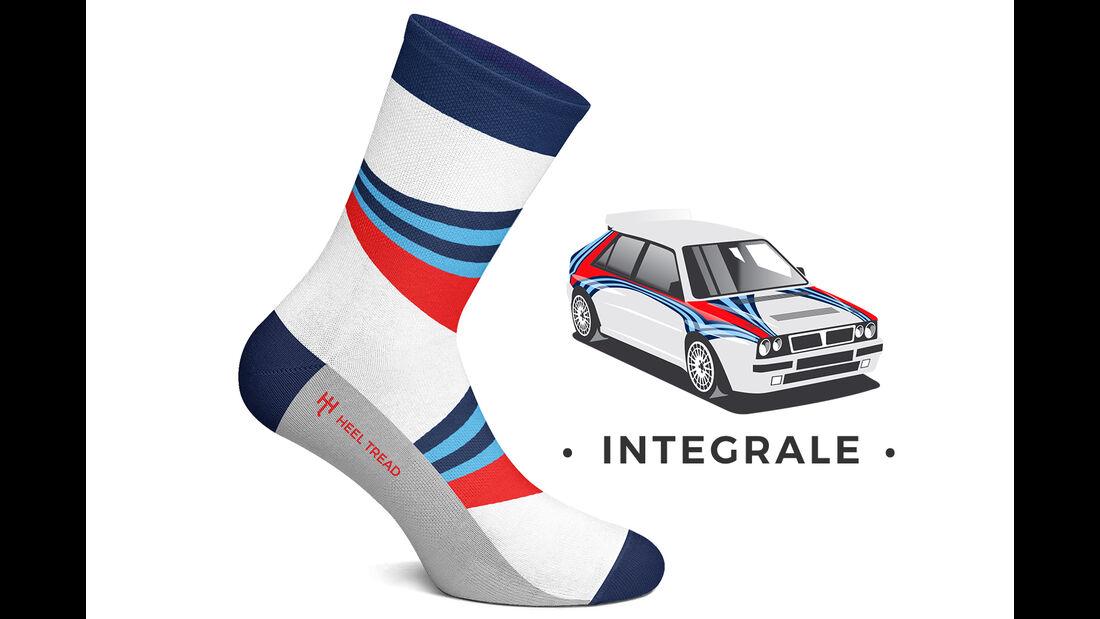 Heel Tread Socks Delta Integrale