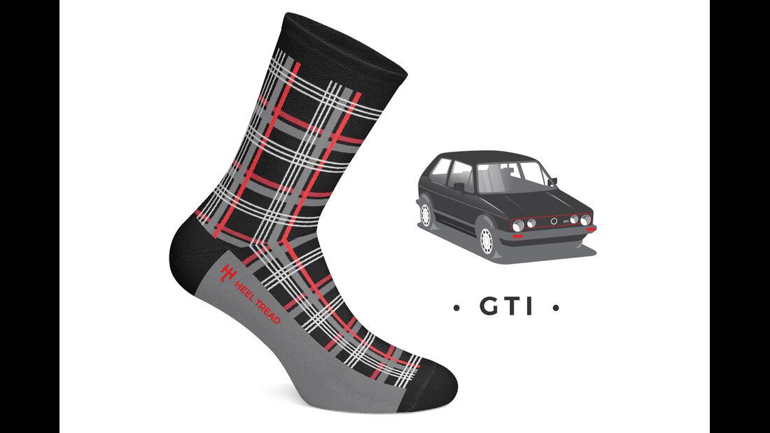 Heel Tread Socks Golf GTI