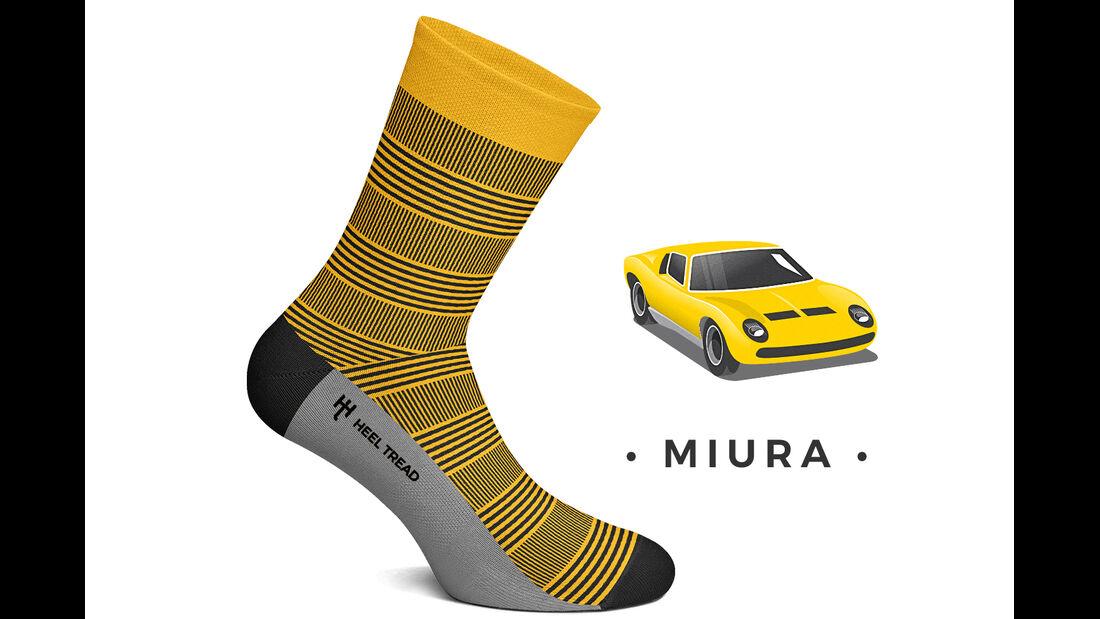 Heel Tread Socks Miura