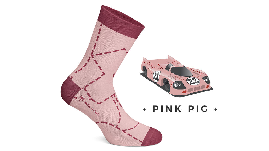 Heel Tread Socks Porsch 918