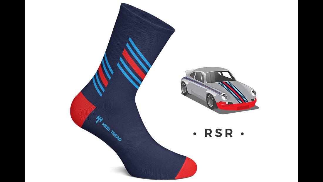 Heel Tread Socks Porsche RSR