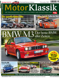 Heftinhalt Motor Klassik 11/2015