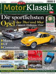 Hefttitel 06/2014 Motor Klassik