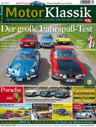 Hefttitel 07/2014 Motor Klassik