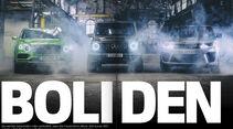 Heftvorschau, AMG G63, Bentley Bentayga und Range Rover SVR, ams2018