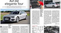 Heftvorschau, FB Audi A6 Avant, ams2018