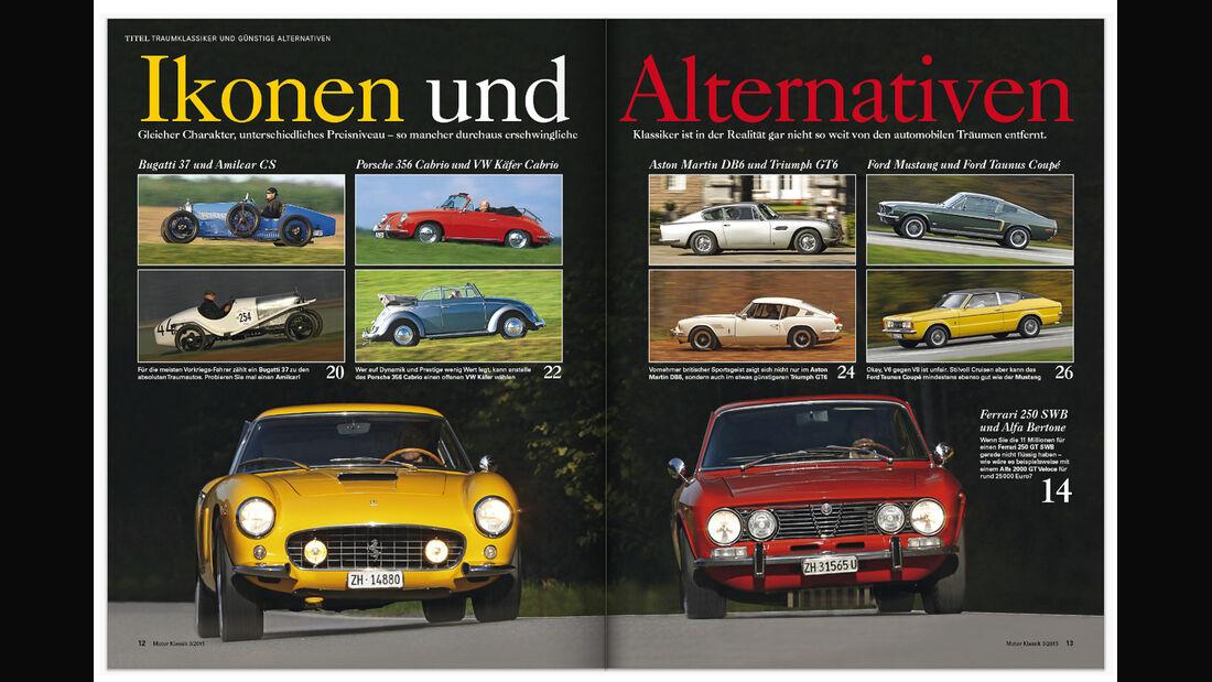 Heftvorschau Motor Klassik 03/2015