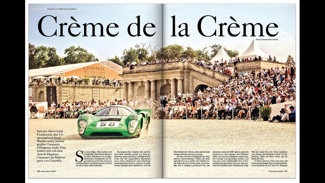 Heftvorschau Motor Klassik Ausgabe 12/2014
