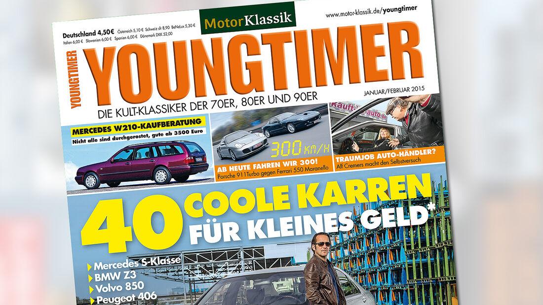 Heftvorschau, Youngtimer 01/2015