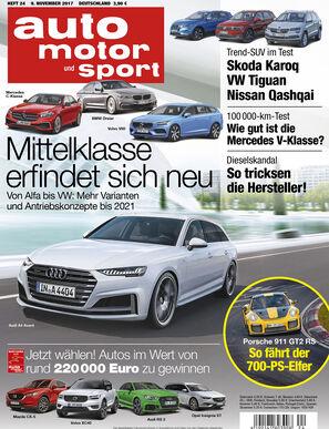 Heftvorschau auto motor und sport, Ausgabe 24/2017