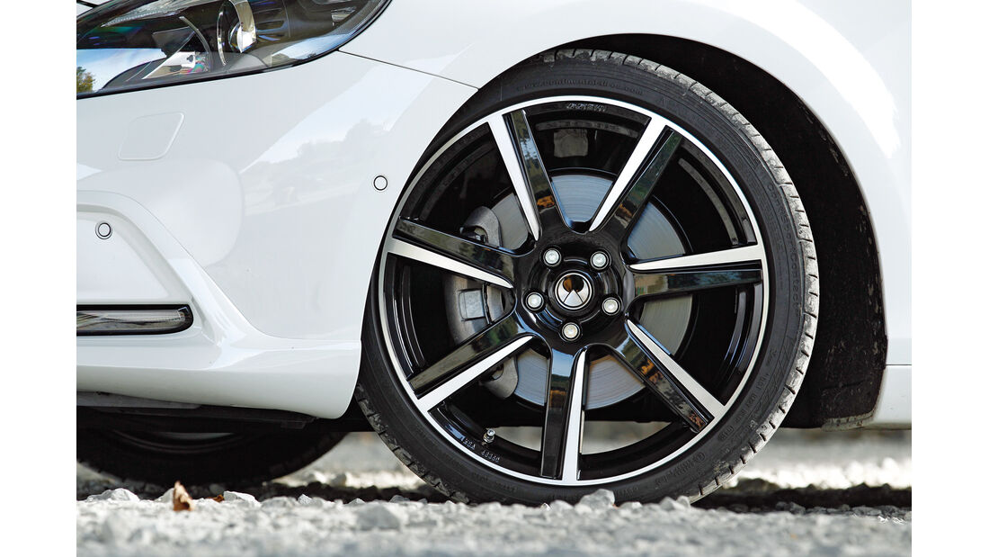 Heico Sportiv-Volvo V40 D3, Rad, Felge