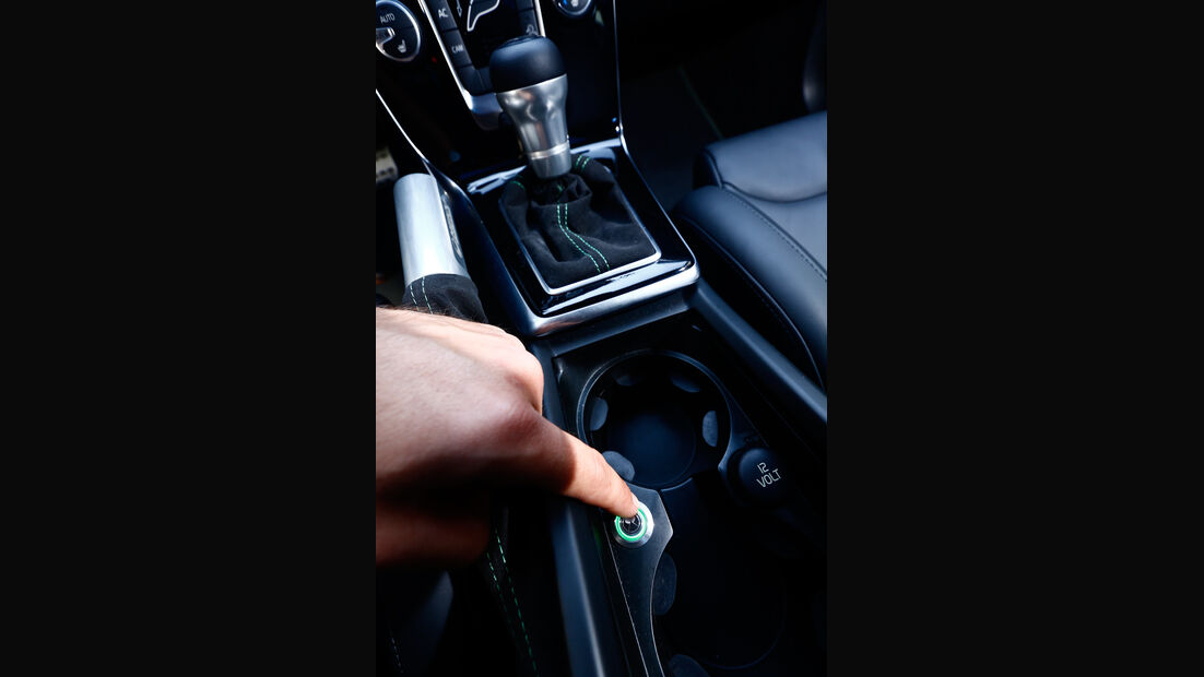 Heico-Volvo V40 T5 HPC, Bedienelement
