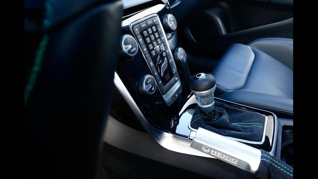 Heico-Volvo V40 T5 HPC, Schalthebel, Bedienelemente
