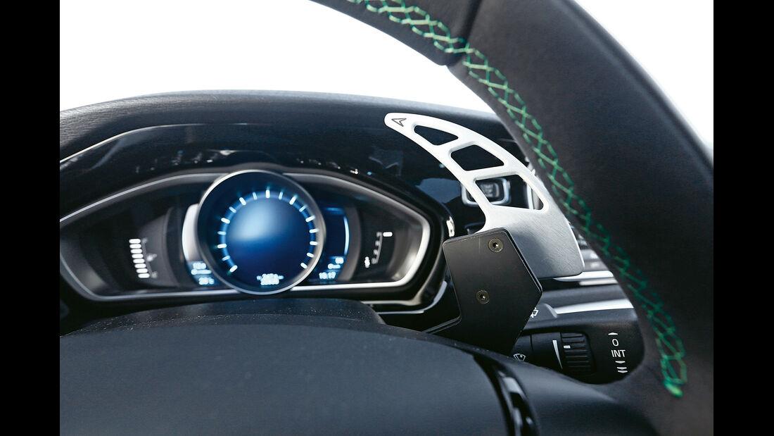 Heico-Volvo V40 T5 HPC, Schaltpaddel