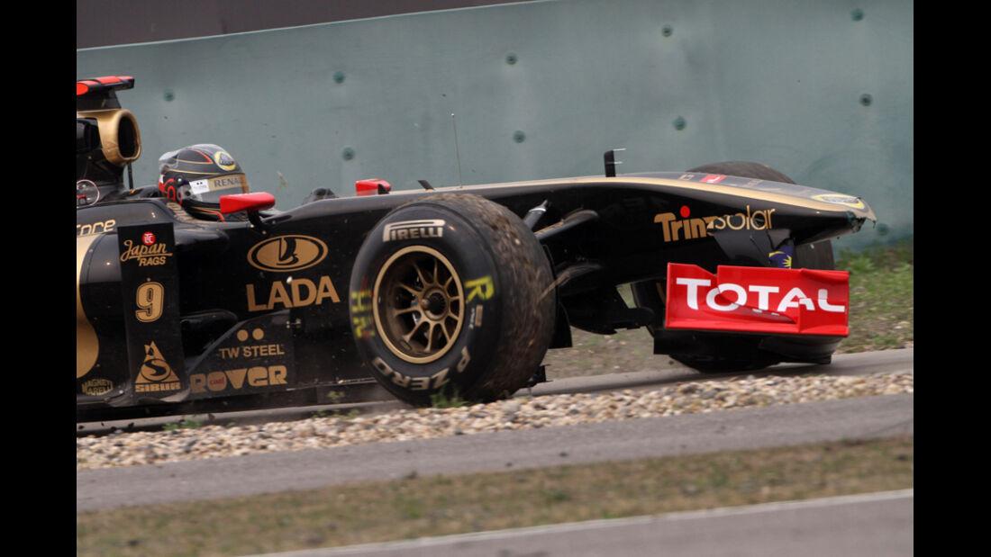 Heidfeld GP China 2011