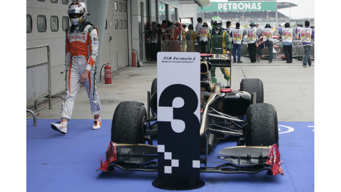 Heidfeld GP Malaysia 2011