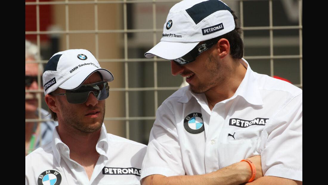 Heidfeld & Kubica