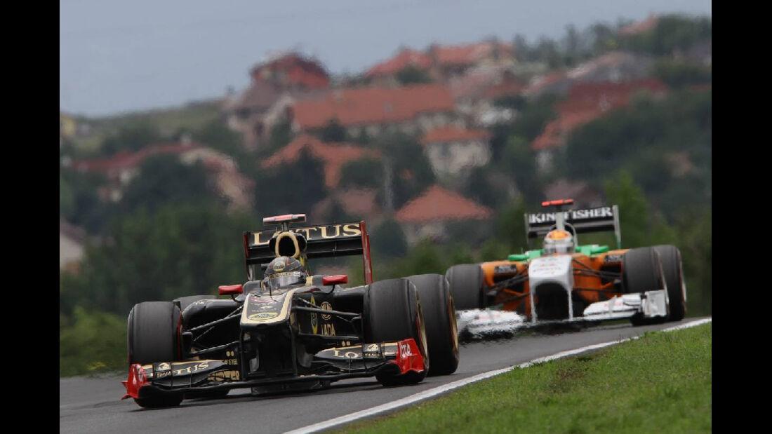 Heidfeld - Noten - GP Ungarn - Formel 1 - 31.7.2011